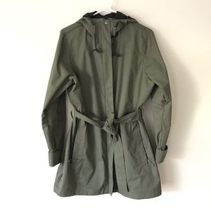 Columbia Belted Rain Jacket Trench